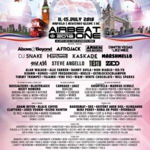 """Musikermagazin - AIRBEAT ONE Dance Festival 2018 """"Great Britain"""" - Internationale High-Class-DJs, futuristische Technik und eine der größten Festivalbühnen Europas"""