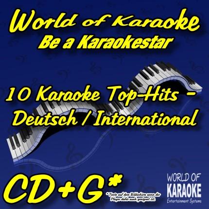 CD-Cover- 10 Top-Hits – Deutsch-International