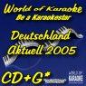 Deutschland Aktuell 2005 - Karaoke Playbacks - Gebraucht