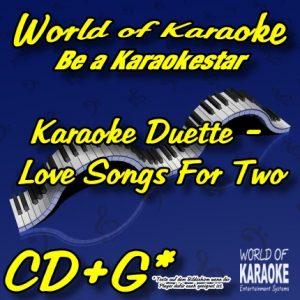 CD-Cover - Love Songs For Two - Karaoke
