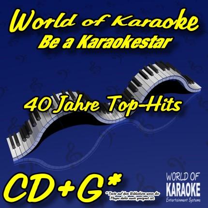 CD-Cover-Karaoke-40 Jahre Top-Hits-