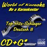 WOK - Deutsch 8 - Karaoke CD - Diese Hits brauchst Du