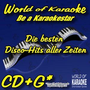 CD-Cover-Karaoke-Die besten Disco-Hits aller Zeiten-