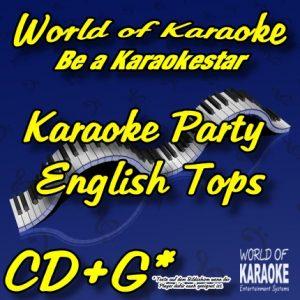 CD-Cover-Karaoke Party – English Tops-