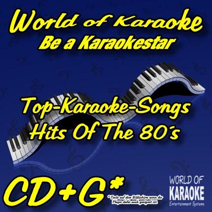 CD-Cover-Karaoke-Playbacks-Hits Of The 80´s-