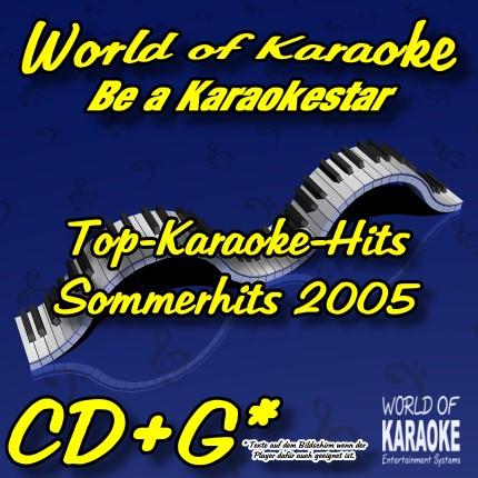 CD-Cover-Karaoke-Playbacks-Sommerhits 2005-