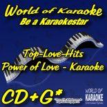 Power of Love - Karaoke Playback Sampler CD Lovesongs - World of Karaoke