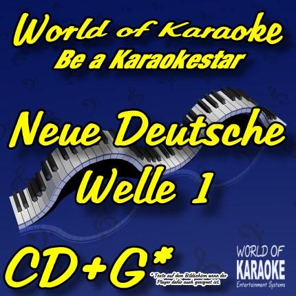 CD-Cover-Neue-Deutsche-Welle-1-Karaoke-Playbacks