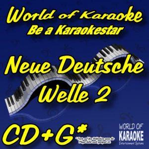 CD-Cover-Neue-Deutsche-Welle-2-Karaoke-Playbacks