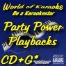 World of Karaoke Präsentiert Karaoke Party Power - Karaoke-Playbacks