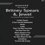 Britney Spears & Juwel Pop Karaoke Songs CD G BS6417 - Backstage