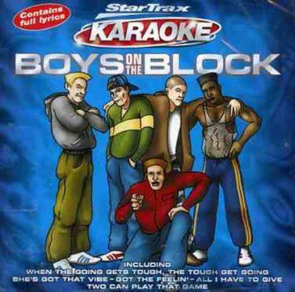 Boys on the Block - Karaoke - Front