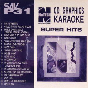 NuTech-P-31-Karaoke – Superhits - Front