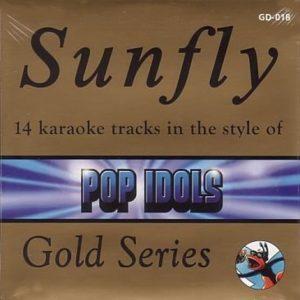 Sunfly Karaoke Gold Series Volume 18 - Pop Idols