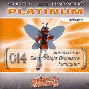 Sunfly Karaoke Platinum Series Volume 14