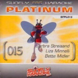 Sunfly Karaoke Platinum Series Volume 15