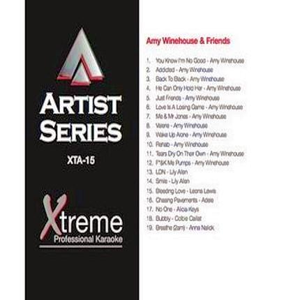 AMY WINEHOUSE & FRIENDS - Karaoke Playbacks - XTA-15