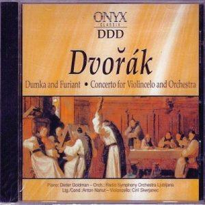 Antonin Dvorak - Dumka and Furiant - Front