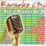 Best Of Megahits Vol. 10 - Karaoke Playbacks - CD+G - Absolute Top-Hits