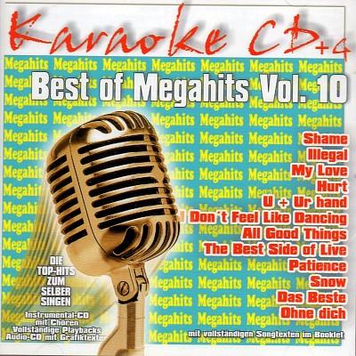 Best Of Megahits Vol. 10 - Karaoke Playbacks - CD+G
