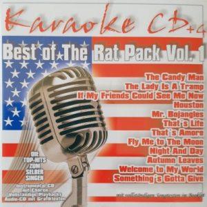 Best Of The Rat Pack Vol. 1 – Karaoke Playbacks – CD+G