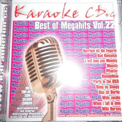 Best of Megahits Vol. 22 – Karaoke Olaybacks – CD+G