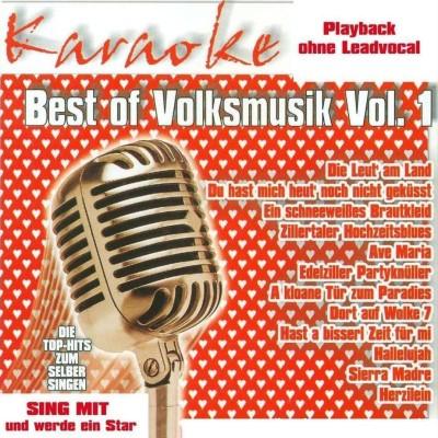 Best of Volkmusik Vol.1 – Karaoke Playbacks – CD+G