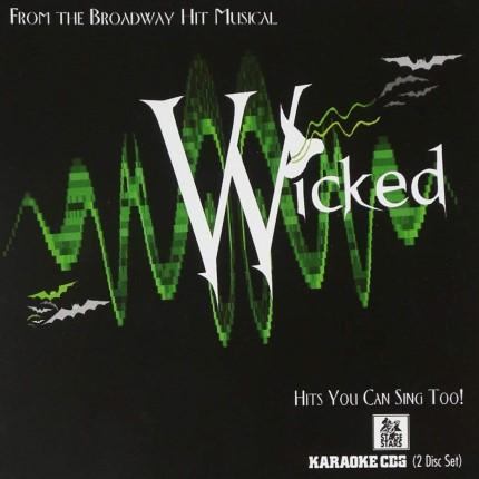Broadway Musical Wicked – Karaoke Playbacks - CD-Front