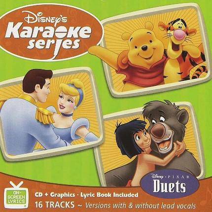 Disney Series – Duets – Karaoke Playbacks – CD+G - Frontseite
