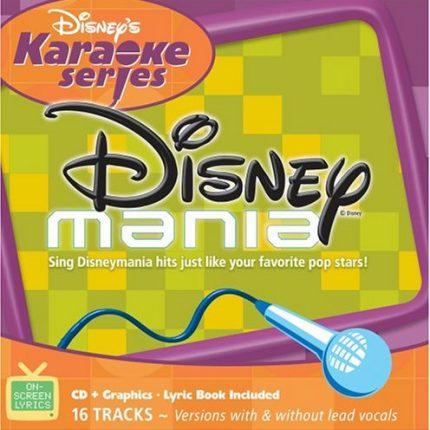 Disney's Series - Disney-Mania - Karaoke Playbacks - CD+G - Frontseite