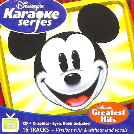 Disney's Series - Greatest Hits - Karaoke Playbacks - CD+G - Frontseite