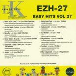 Easy Hits - EZH-27 - Karaoke CD+G Playbacks