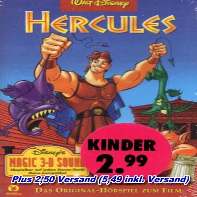 Hercules - Hörspiel zum Film - Disney - MC - Kassette - NEU + OVP