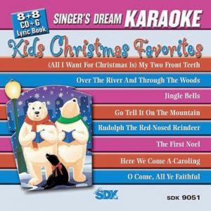 Kids Christmas Favorites - Karaoke Playbacks - SDK 9051