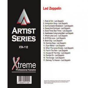 LED ZEPPELIN - Karaoke Playbacks - xta112