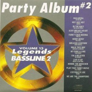 LEGENDS Bassline vol.13 Karaoke CDG PARTY Album Vol.2