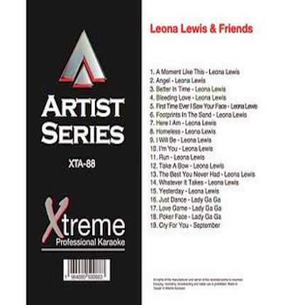 LEONA LEWIS & FRIENDS - xta88 - Karaoke Playbacks