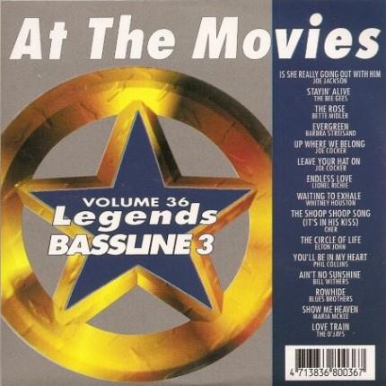 Legends Karaoke Bassline Series Volume 36 - At The Movies