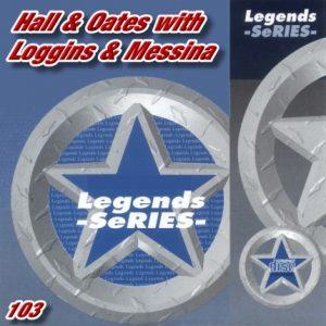 Legends Karaoke - Vol.103 - Hall & Oates with Loggins & Messina
