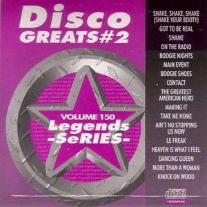 Legends Karaoke Volume 150 - Disco Greats 2