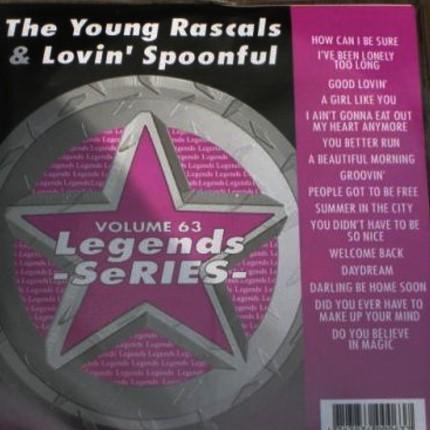 Legends Karaoke Volume 63 - Hits Of Young Rascals & Lovin' Spoonful