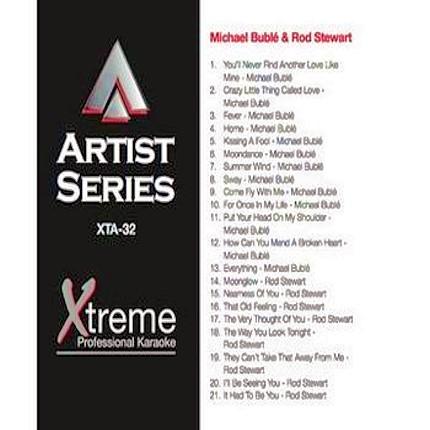 MICHAEL BUBLE & ROD STEWART - Karaoke Playbacks - xta32