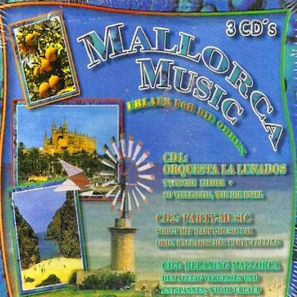 Mallorca Music - Urlaub für die Ohren - 3-CD-Box - Front - Bild