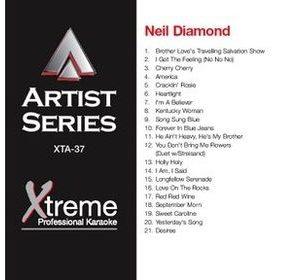 NEIL DIAMOND - Karaoke Playbacks -xta-37