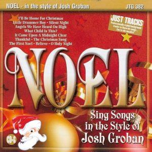 Noel - Weihnachts-Karaoke im Style von Josh Groban - CDG - Playbacks