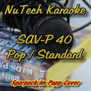 NuTech-P-40-Karaoke - Pop, Standards und MEHR