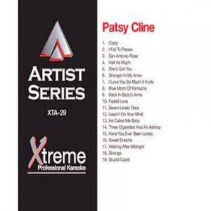 PATSY CLINE - Karaoke Playbacks - xta29