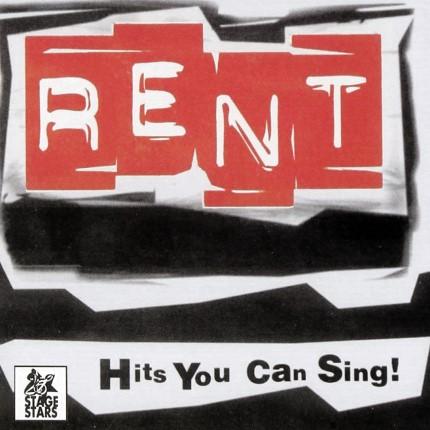 Rent – Das Musical – Karaoke Playbacks - Frontseite CD
