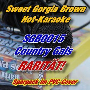 Sweet Georgia Brown Karaoke - SGB0015 - Country Gals