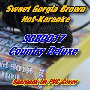 Sweet Georgia Brown Karaoke - SGB0017 - Country Deluxe